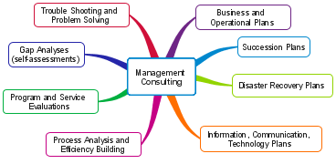 management consulting diagram